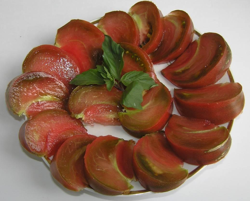 Сортовая характеристика томата шоколадное чудо