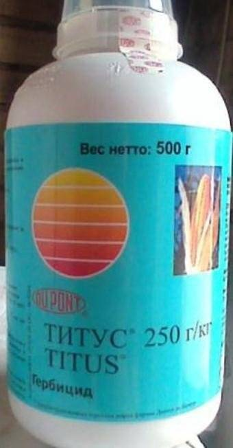 Инструкция по применению гербицида титус для картофеля - общая информация - 2020