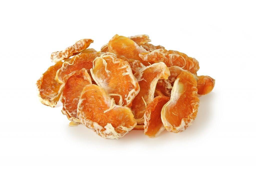 Польза сушеных мандаринов