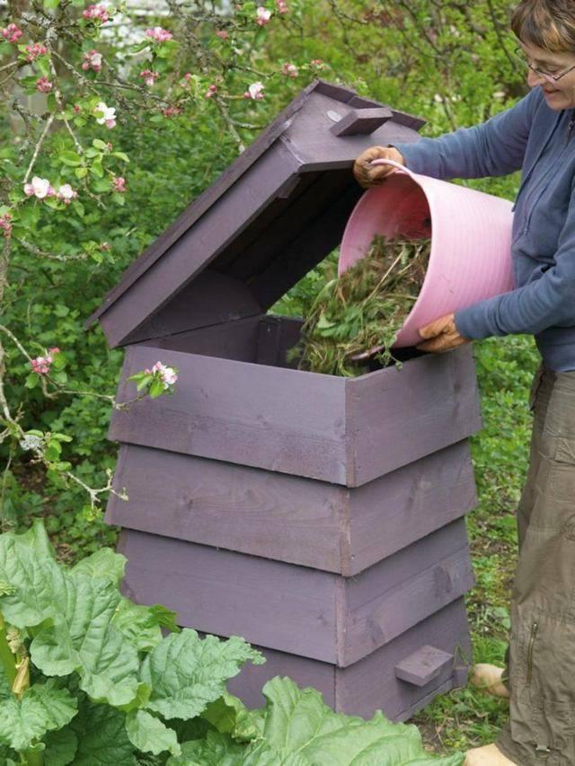 Изготовление ящика для компоста своими руками: описание основных технических моментов, рецепты приготовления компоста (50 фото & видео) +отзывы
