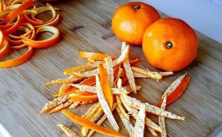 Мандариновые корки от кашля и орз, рецепты приготовления и способы применения
