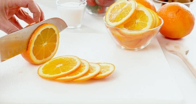 Апельсин калорийность в 1 штуке