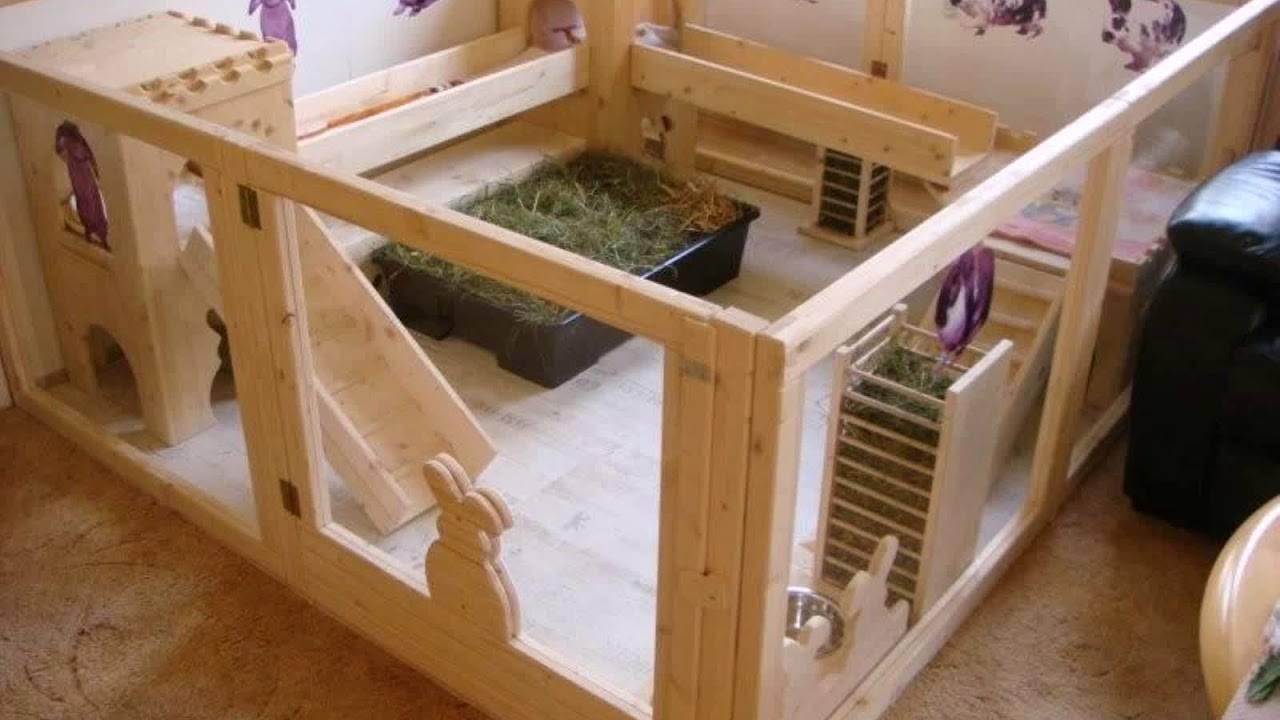 Строительство домика для кролика