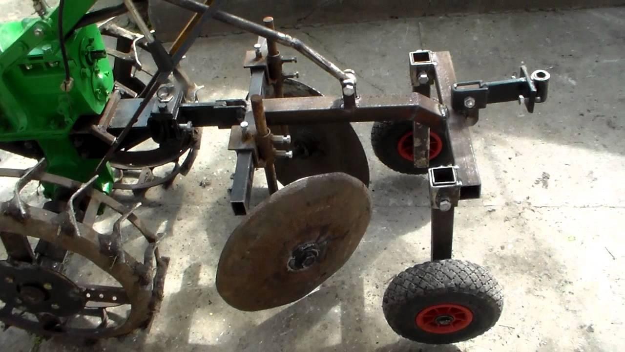 Окучник для мотоблока — подбор, самостоятельное изготовление