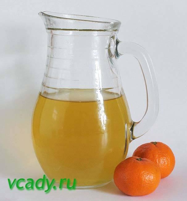 Полезные свойства кожуры мандарина