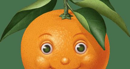 Апельсин дают вам