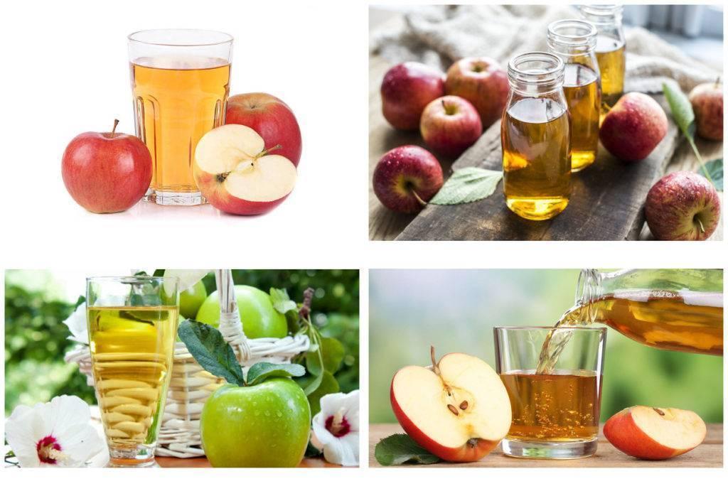 Сок яблочный, польза и вред для организма человека
