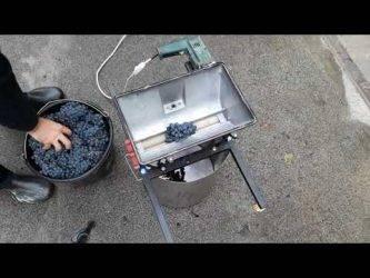 Дробилка (давилка) для винограда своими руками - блогфермера