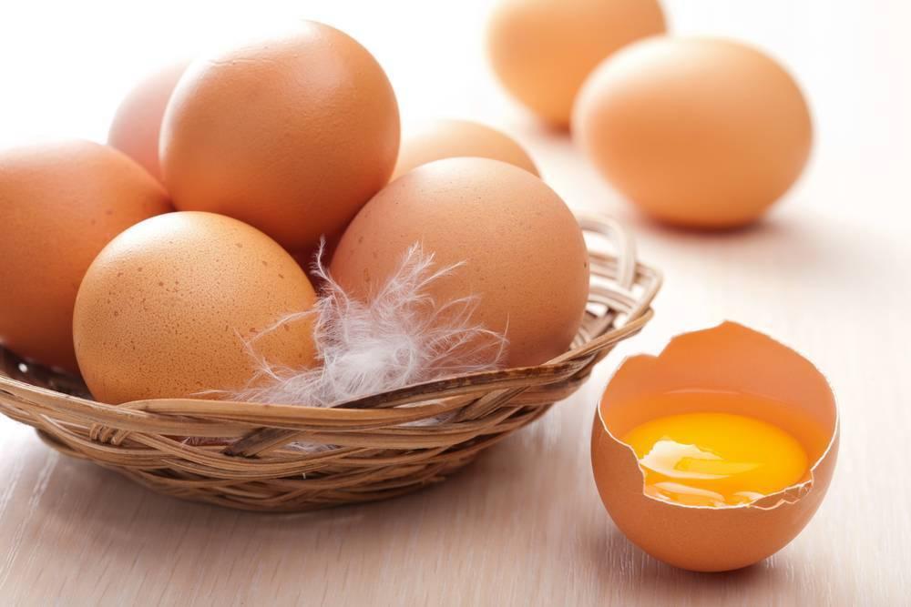 Сколько весит яйцо вкрутую без скорлупы