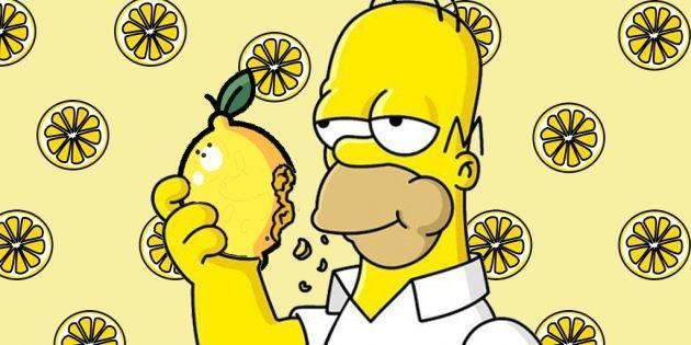 Калорийность воды с лимоном