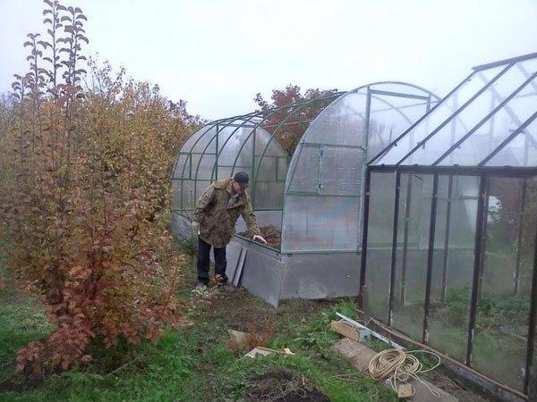 Подготовка теплицы к весне под огурцы осенью: видео + фото процесса