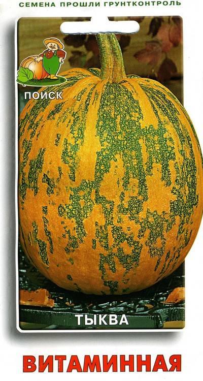 """Тыква """"витаминная"""": описание и фото, особенности выращивания"""