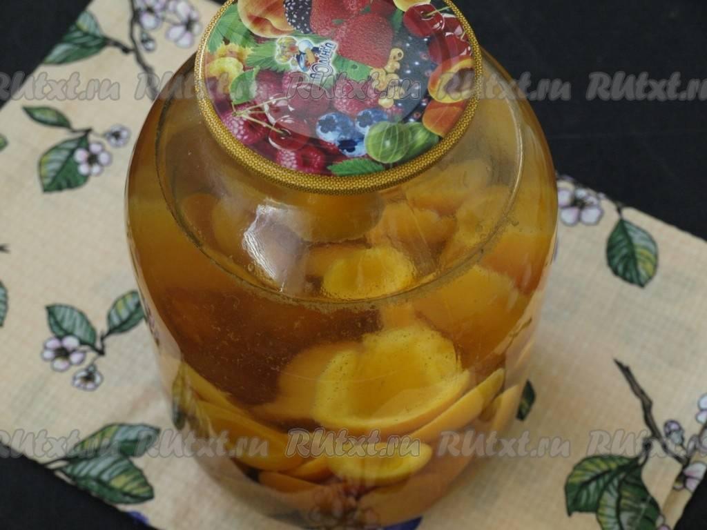 Компот из абрикосов пошаговый рецепт быстро и просто от риды хасановой