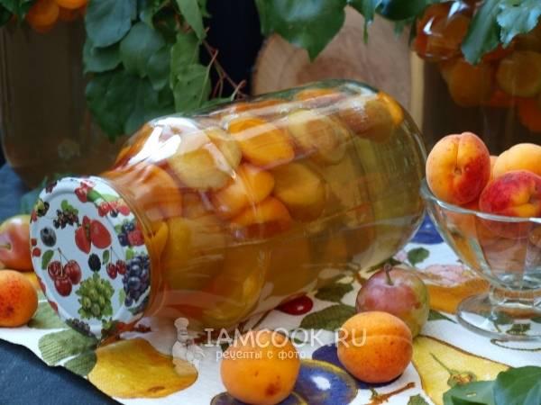 Абрикосовый компот - рецепты на зиму