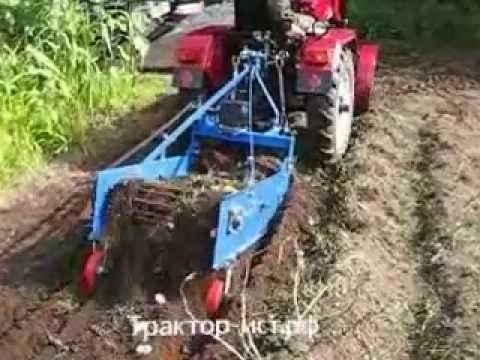 Как сделать картофелекопалку для минитрактора
