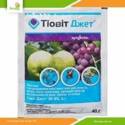 Инструкция по обработке винограда препаратом тиовит джет, основные свойства