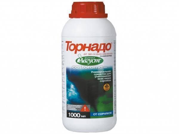 Торнадо (гербицид): инструкция по применению, состав и свойства