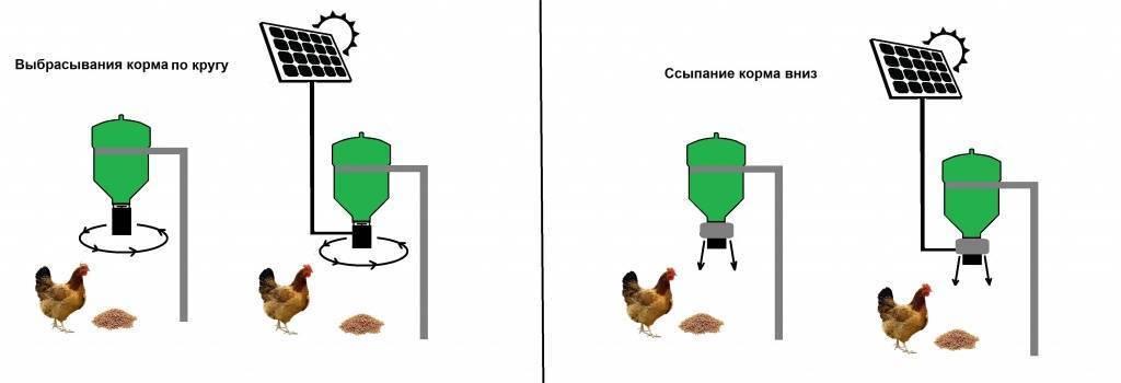 Возведение автокормушки для кур