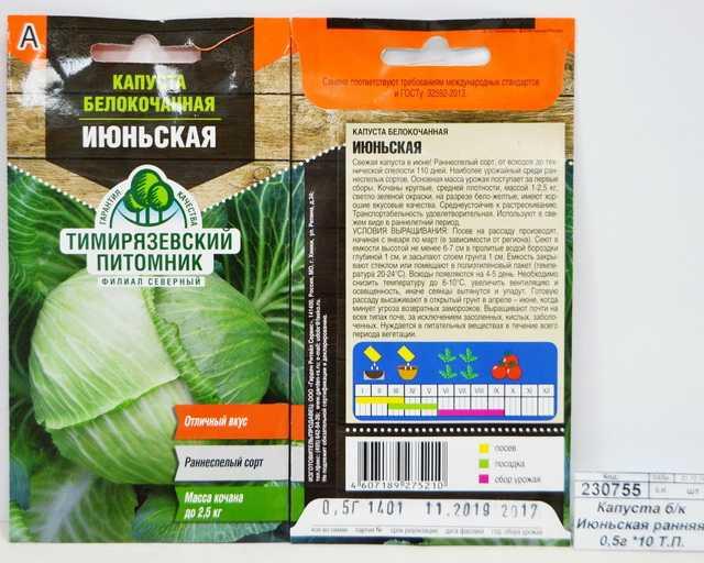 Ранние сорта капусты белокочанной: описание и фото лучших