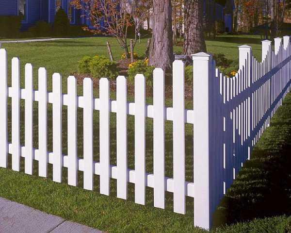 Забор (заборчик, ограда, ограждение) для палисадника