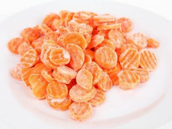 Заморозка свежей моркови на зиму в домашних условиях в морозильной камере