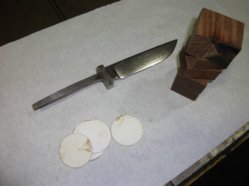 Грибной нож своими руками