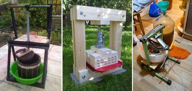 Способы изготовления пресса для яблок своими руками | садоводство24