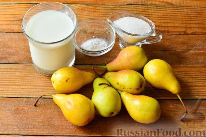 Сгущенка из груш с сухим молоком