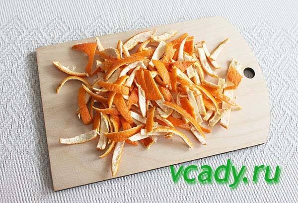 Мандариновые корки, применение: как удобрение, в кулинарии, приготовление наритков