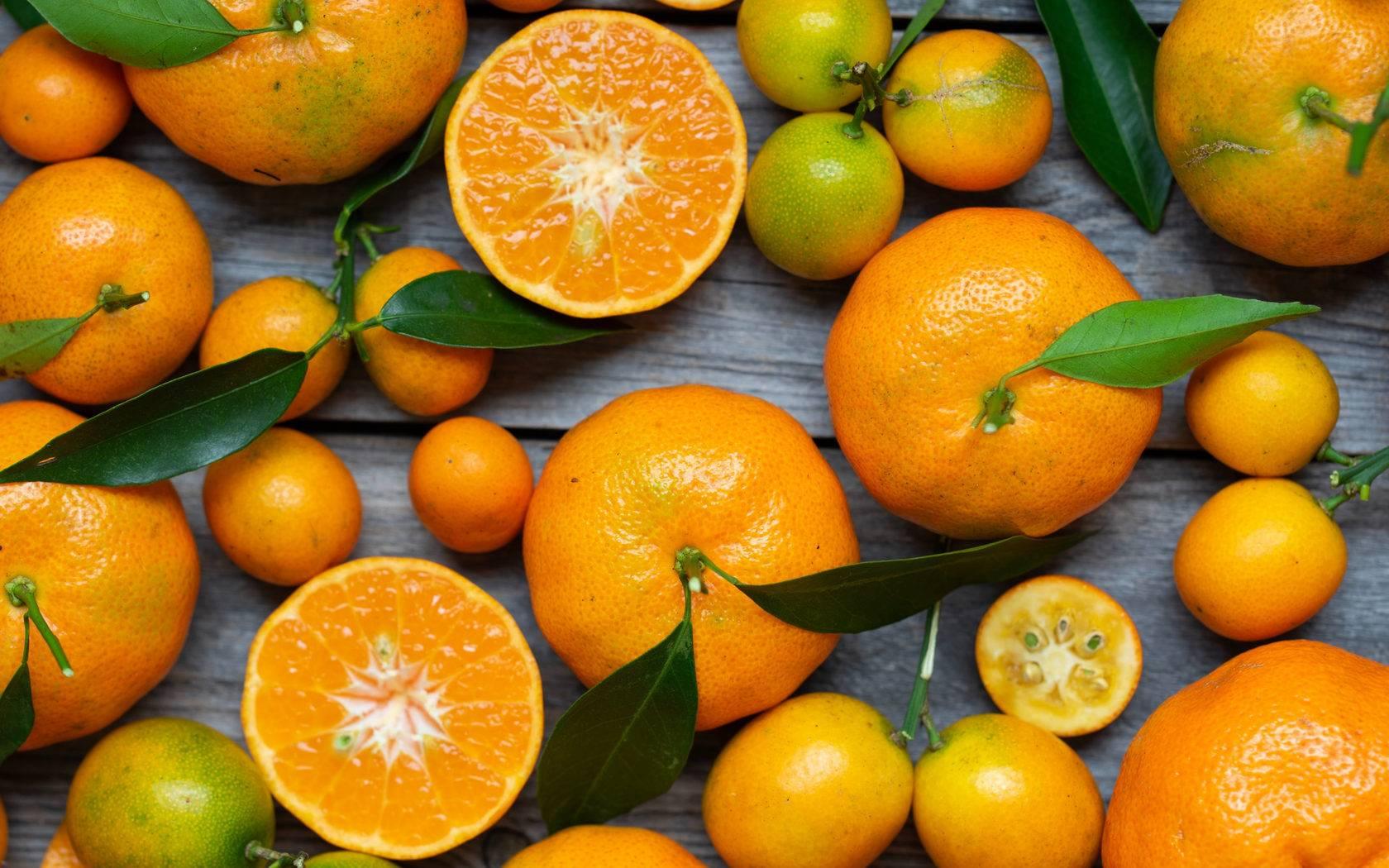 Витамины в мандаринах