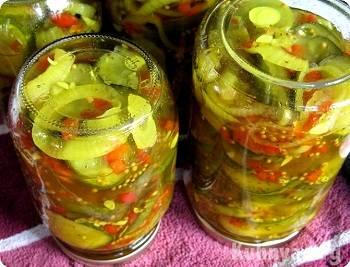Салаты из огурцов на зиму (самые вкусные рецепты пальчики оближешь)