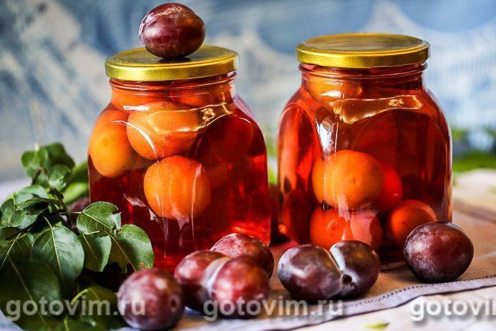 Компот из абрикосов на зиму – 12 простых рецептов на 3 л и 1 л (без стерилизации)