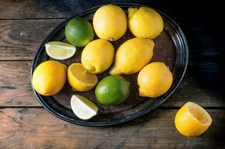 Польза лимона и лайма для организма