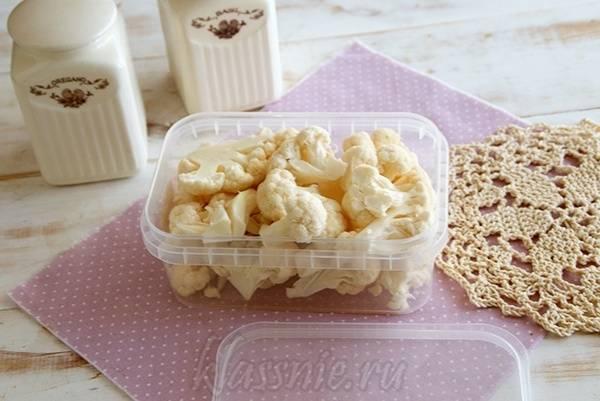 Полезные советы, как необходимо хранить цветную капусту в холодильнике