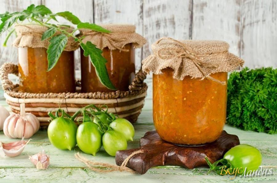 Рецепт икры из зеленых помидоров «пальчики оближешь» — привет из осени. лучшие рецепты икры из зеленых помидоров