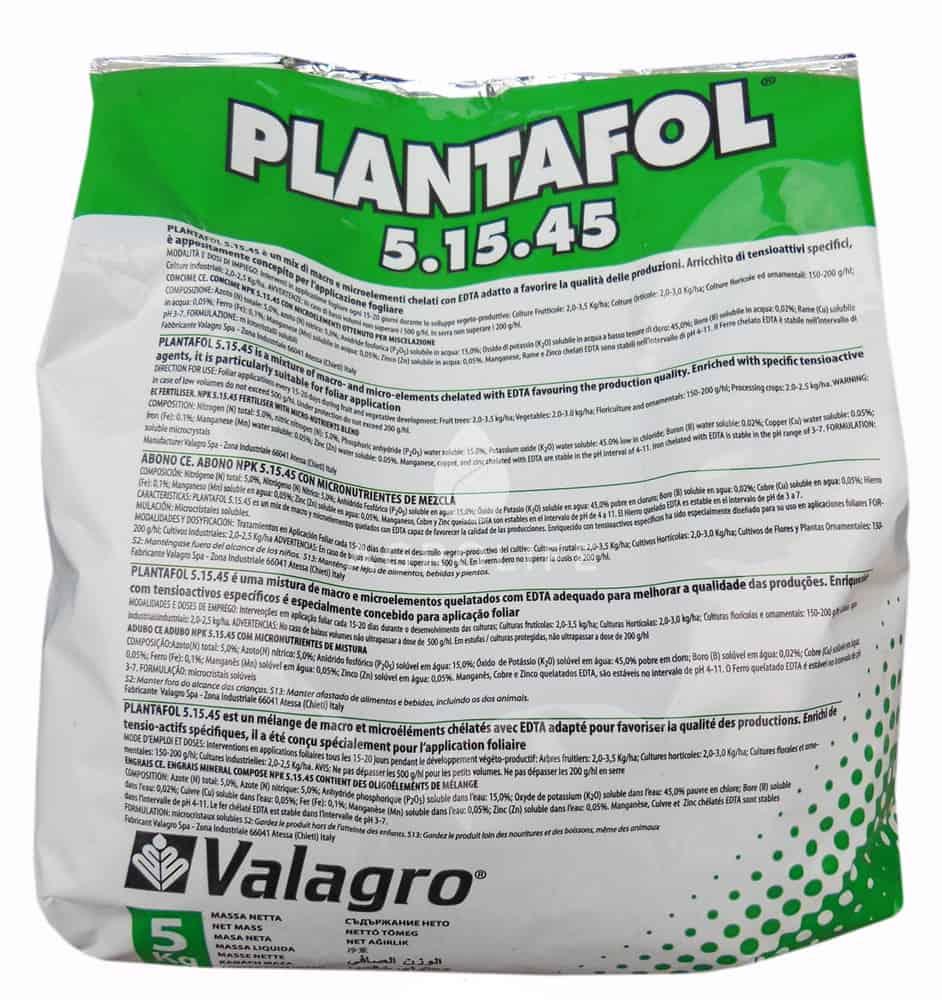 Плантафол: виды удобрения, инструкция по применению, состав и свойства