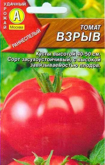 Особенности выращивания, характеристика и описание томатов взрыв
