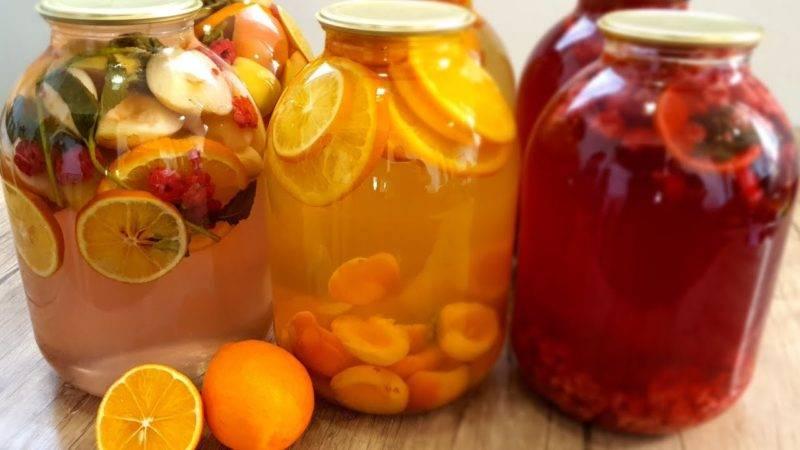 Компот из абрикосов и яблок — универсальный напиток «и в пир, и в мир»