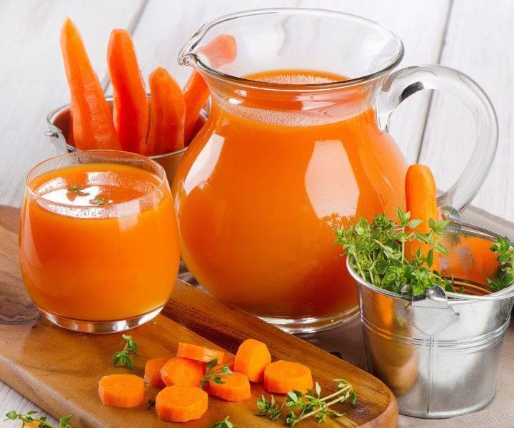 Морковный сок  - польза и вред для организма