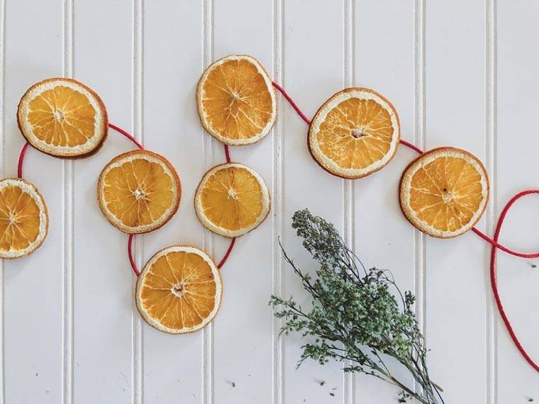 Особенности засушки апельсина для декора и еды - агрономы