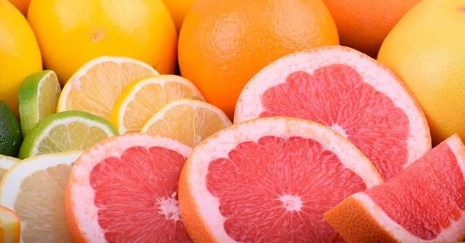 Белый грейпфрут: красные, розовые и желтые сорта, польза и вред, бжу