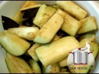 Как избавить баклажан от горечи