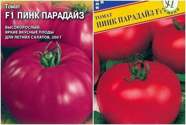 Томат пинк парадайз f1: характеристика и описание сорта, выращивание, отзывы с фото