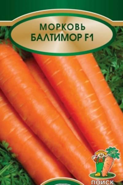 Морковь балтимор f1: описание и основы выращивания