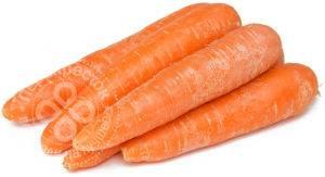 Витамины в моркови, таблица