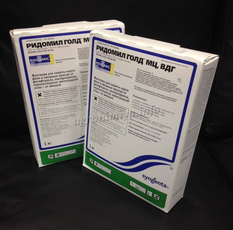 Инструкция и особенности применения фунгицида ридомил голд