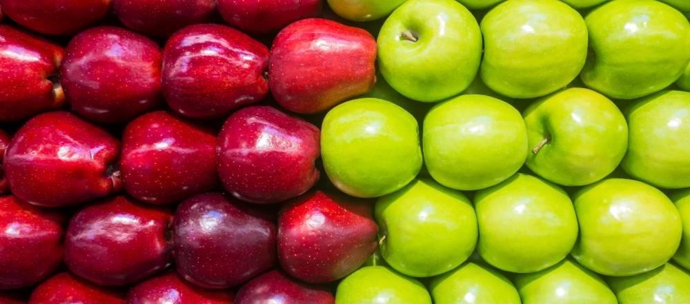 Сколько весит яблоко: маленькое, большое и среднее
