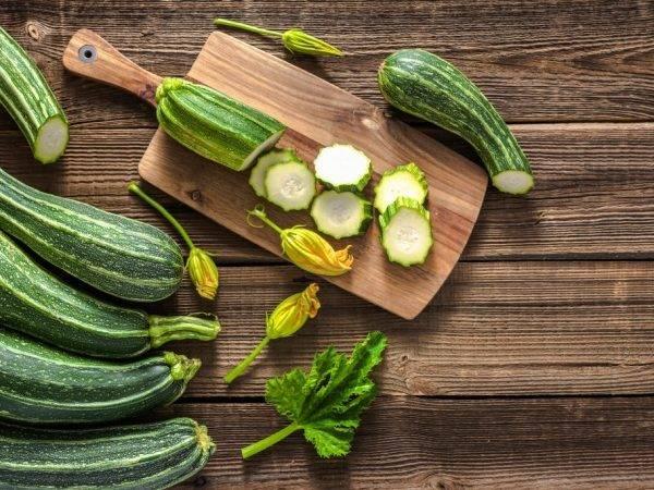 Какие витамины и микроэлементы содержатся в кабачках