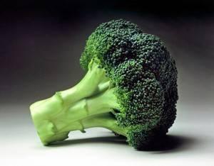 Сколько калорий в капусте брокколи
