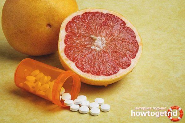 Сочный фрукт - грейпфрут... польза, вред и с какими лекарствами нельзя его есть? | дары природы.су